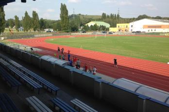 Pohled z tribuny