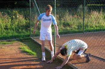 Překážky - ale trochu jinak v podání trenéra Peleho. (2010)