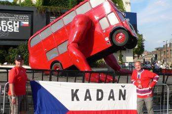 Na olympiádě v Londýně byla vidět i Kadaň